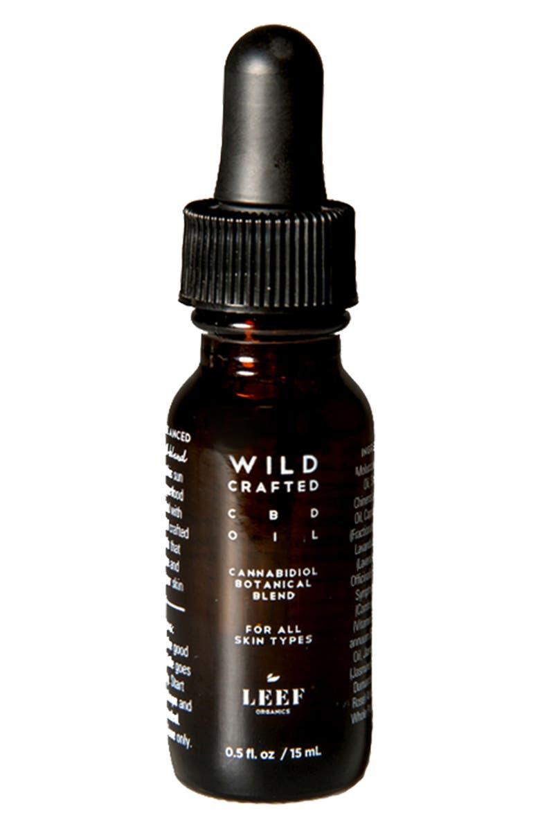 LEEF ORGANICS Wild Crafted CBD Skin Oil, Main, color, NO COLOR