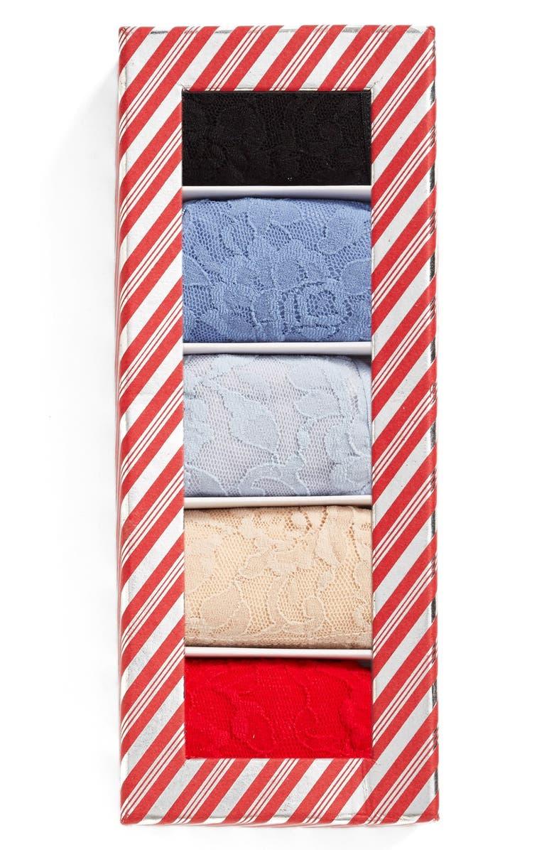 HANKY PANKY Low Rise Thongs, Main, color, 412
