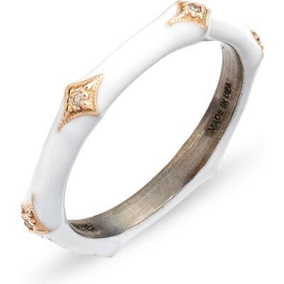 Armenta New World 14K Gold & Enamel Band Ring