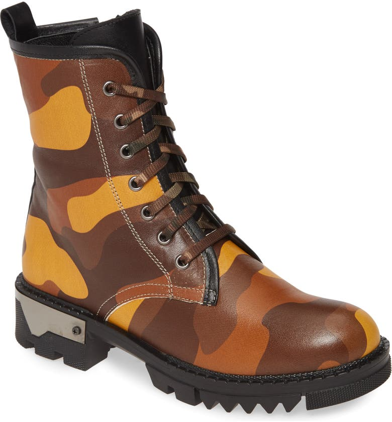 SHERIDAN MIA Micah Boot, Main, color, YELLOW CAMOUFLAGE LEATHER