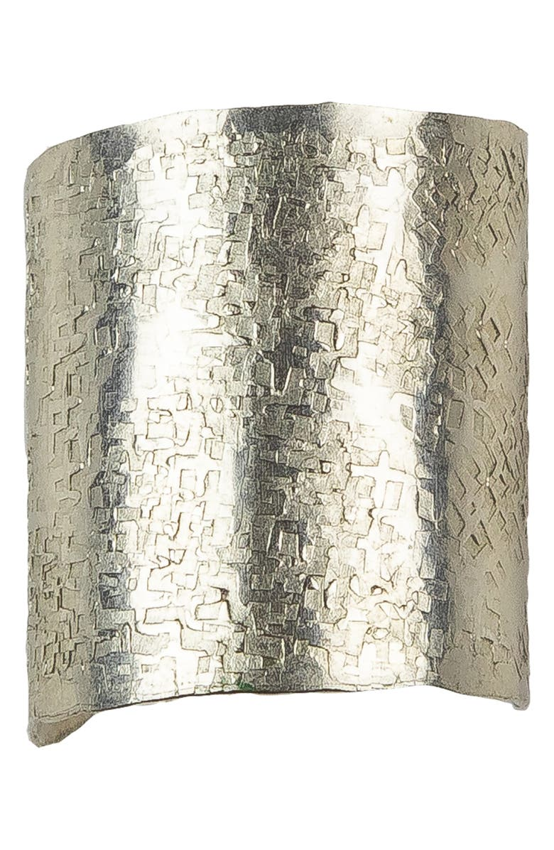 NASHELLE Large Wander Cuff Ring, Main, color, SILVER