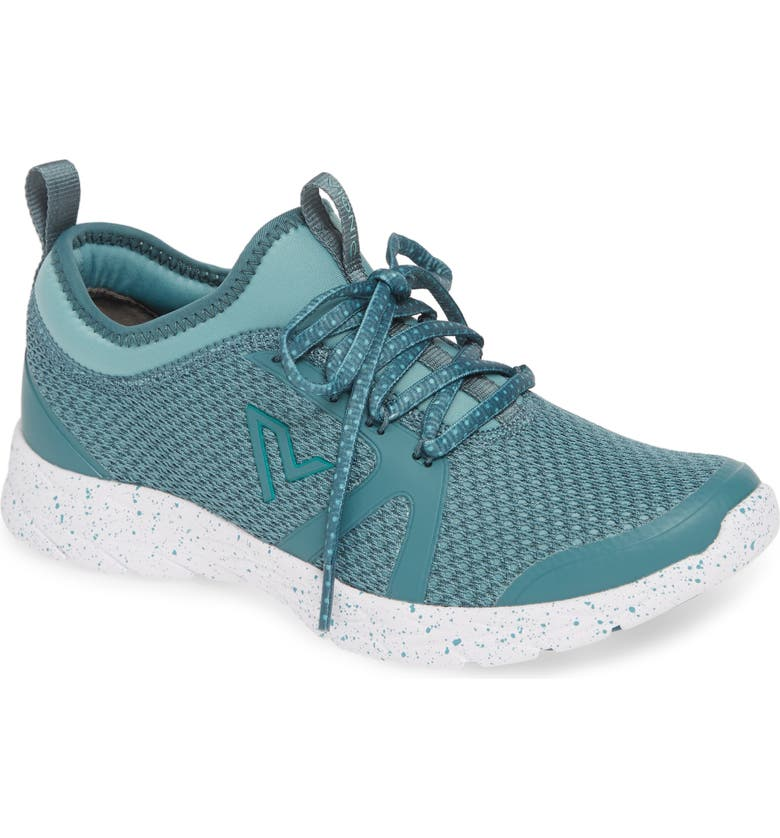 VIONIC Alma Sock Sneaker, Main, color, TURQUOISE