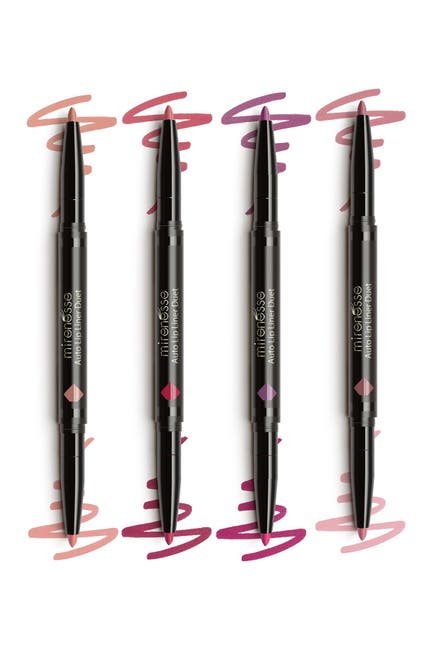 Image of Mirenesse 8 Colour Lip Liner Duet Mania - Natural Faves