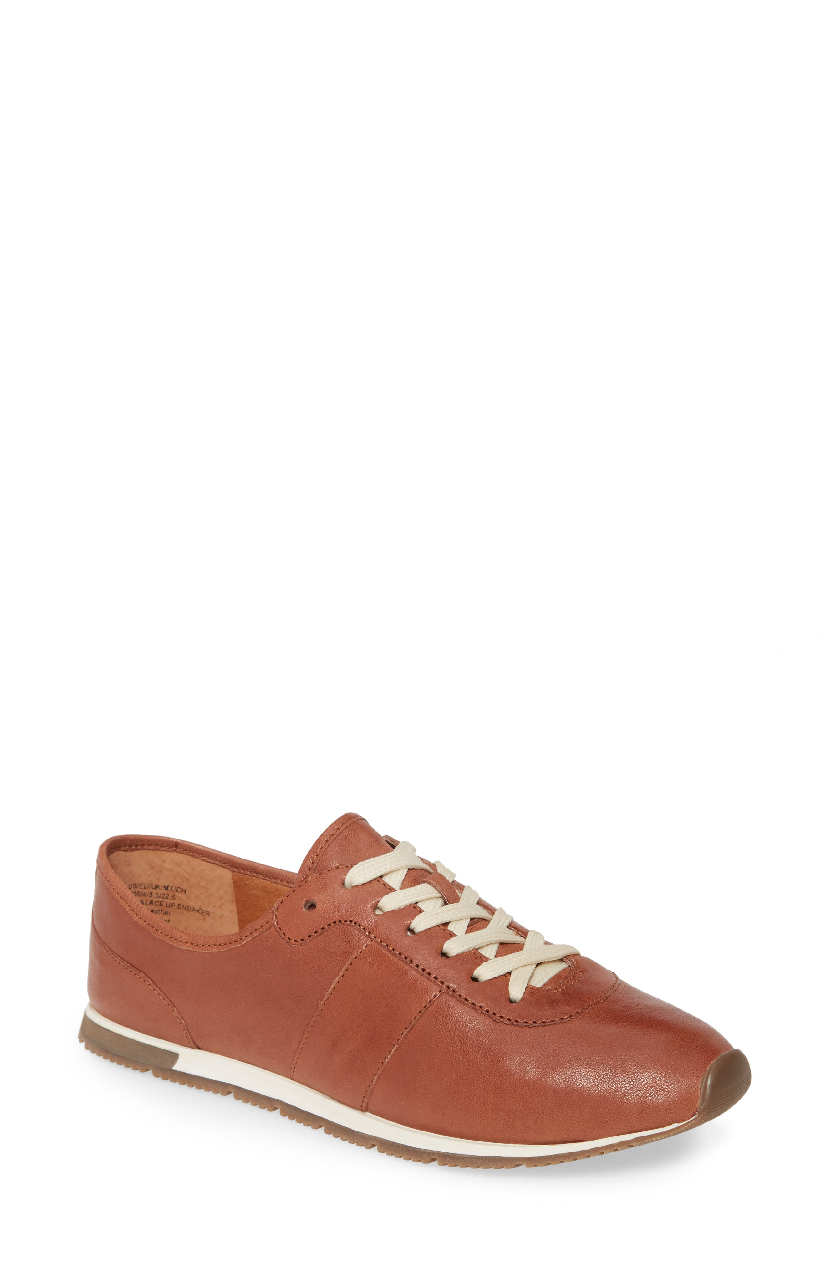 Gentle Souls By Kenneth Cole Luca Lace-Up Sneaker, Brown