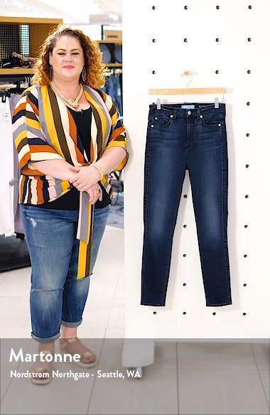 High Waist Ankle Skinny Jeans, sales video thumbnail