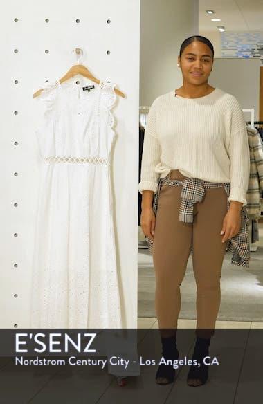 Eyelet Midi Dress, sales video thumbnail