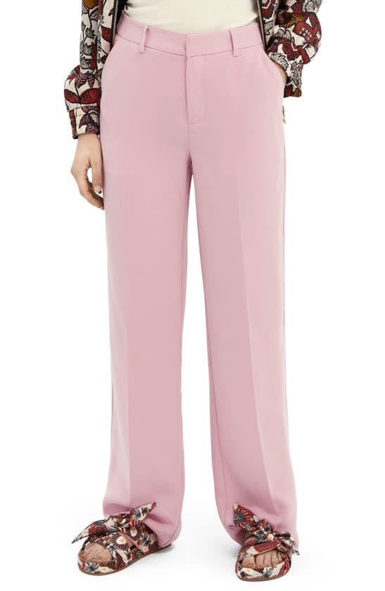 Scotch & Soda Wide leg pants CLASSIC WIDE LEG PANTS