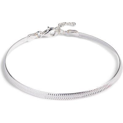Argento Vivo Snake Chain Bracelet