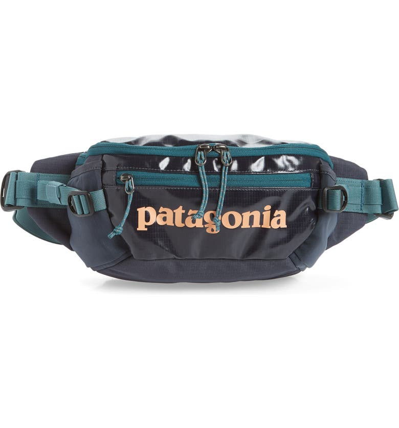 Black Hole Recycled Belt Bag by Patagonia
