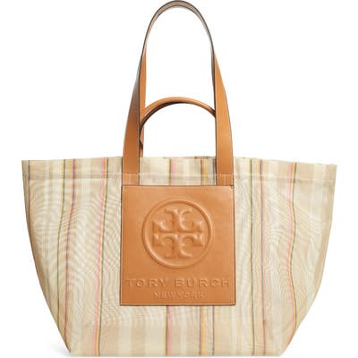 Tory Burch Large Perry Mesh Tote - Pink