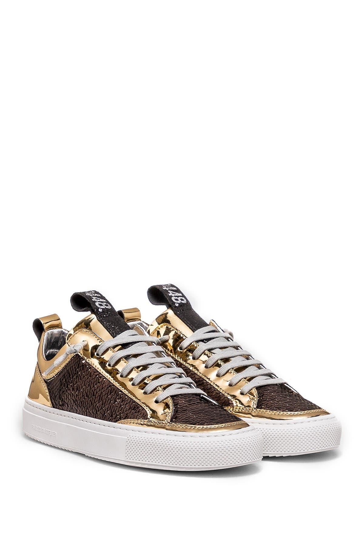 P448 | Soho Sequin Leather Sneaker