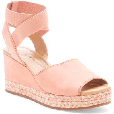Lucky Brand Bettanie Espadrille Wedge Sandal, Pink