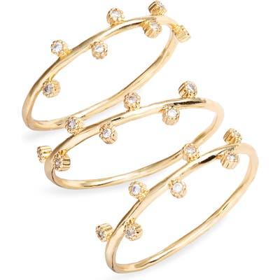 Gorjana Eloise Set Of 3 Rings