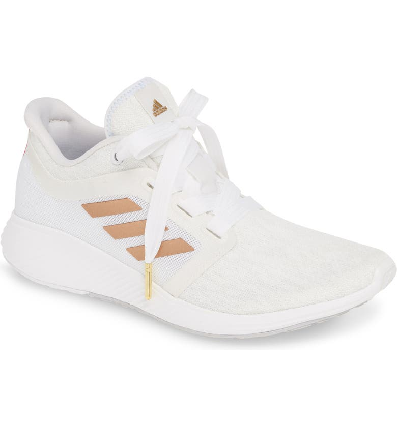 ADIDAS Edge Lux 3 Running Shoe, Main, color, WHITE/ COPPER/ CRYSTAL WHITE
