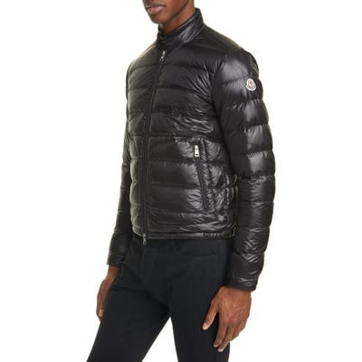 Moncler Acorus Down Puffer Jacket, Black