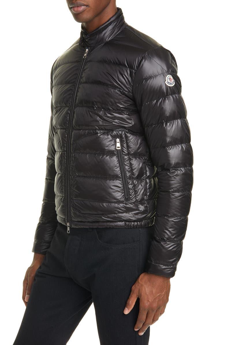 MONCLER Acorus Down Puffer Jacket, Main, color, 001