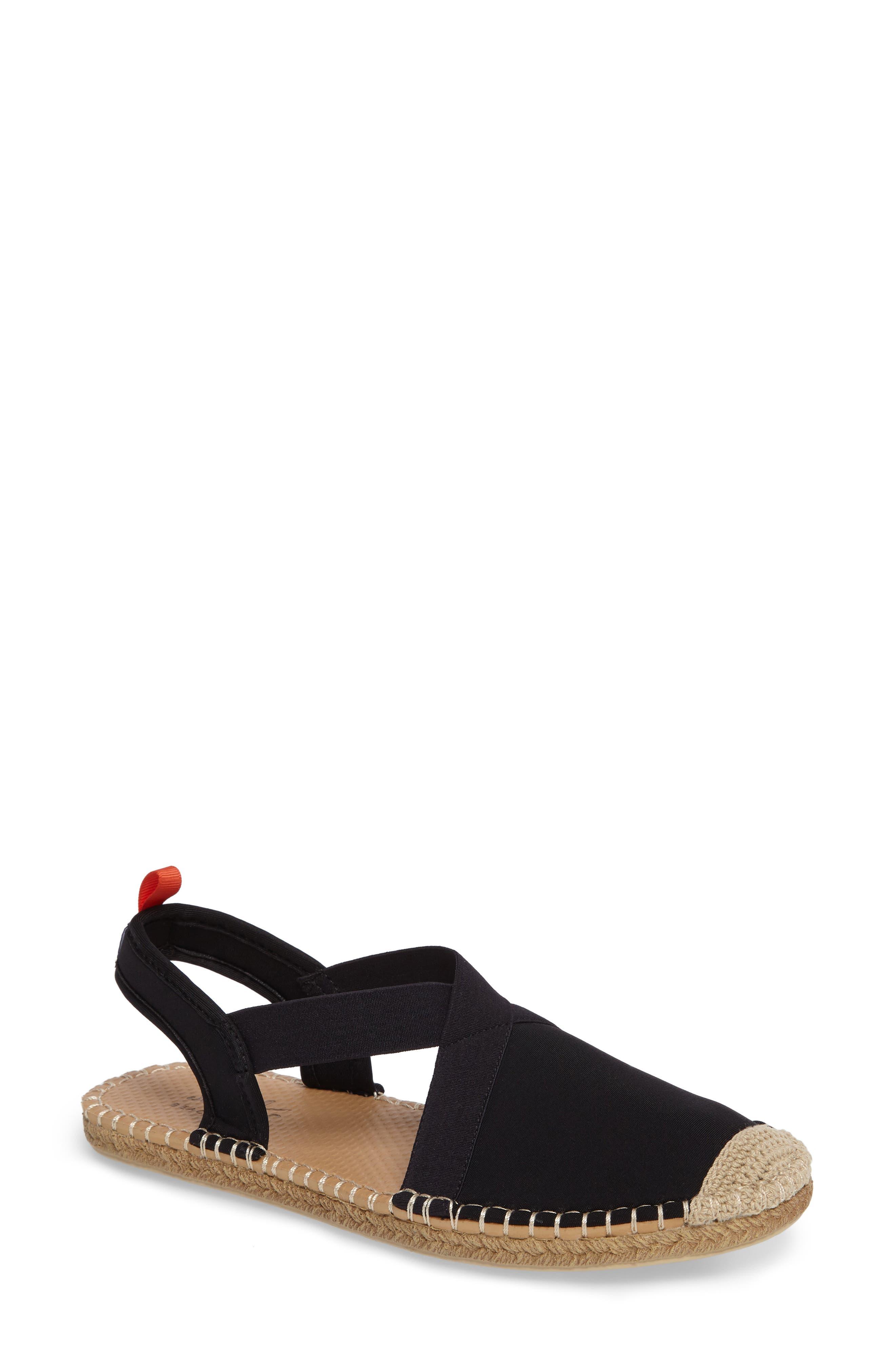 Sea Star Beachwear Slingback Espadrille Water Shoe (Women)