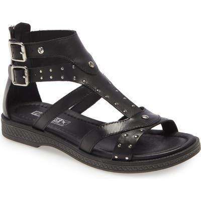 Pikolinos Moraira Gladiator Sandal, Black