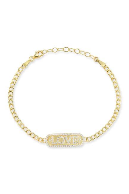Image of Sphera Milano Gold Vermeil Love Bracelet