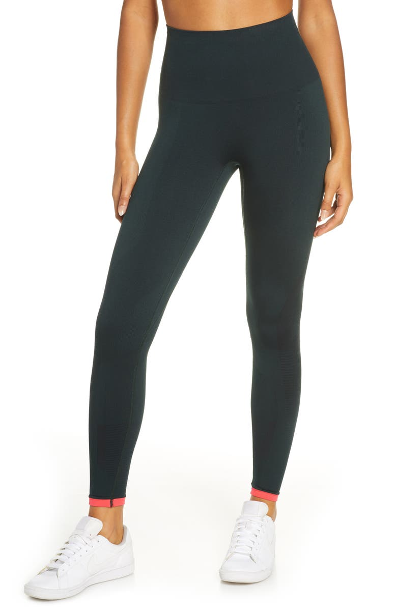 LNDR Cosmos Leggings, Main, color, DARK KHAKI