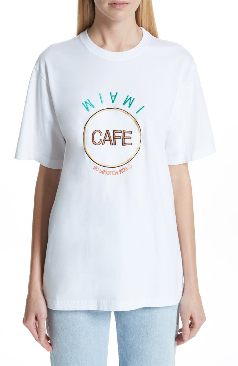 VETEMENTS Miami Save The Planet Tee, Main, color, 100