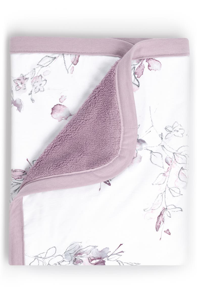 OILO Bella Jersey Cuddle Blanket, Main, color, LAVENDER