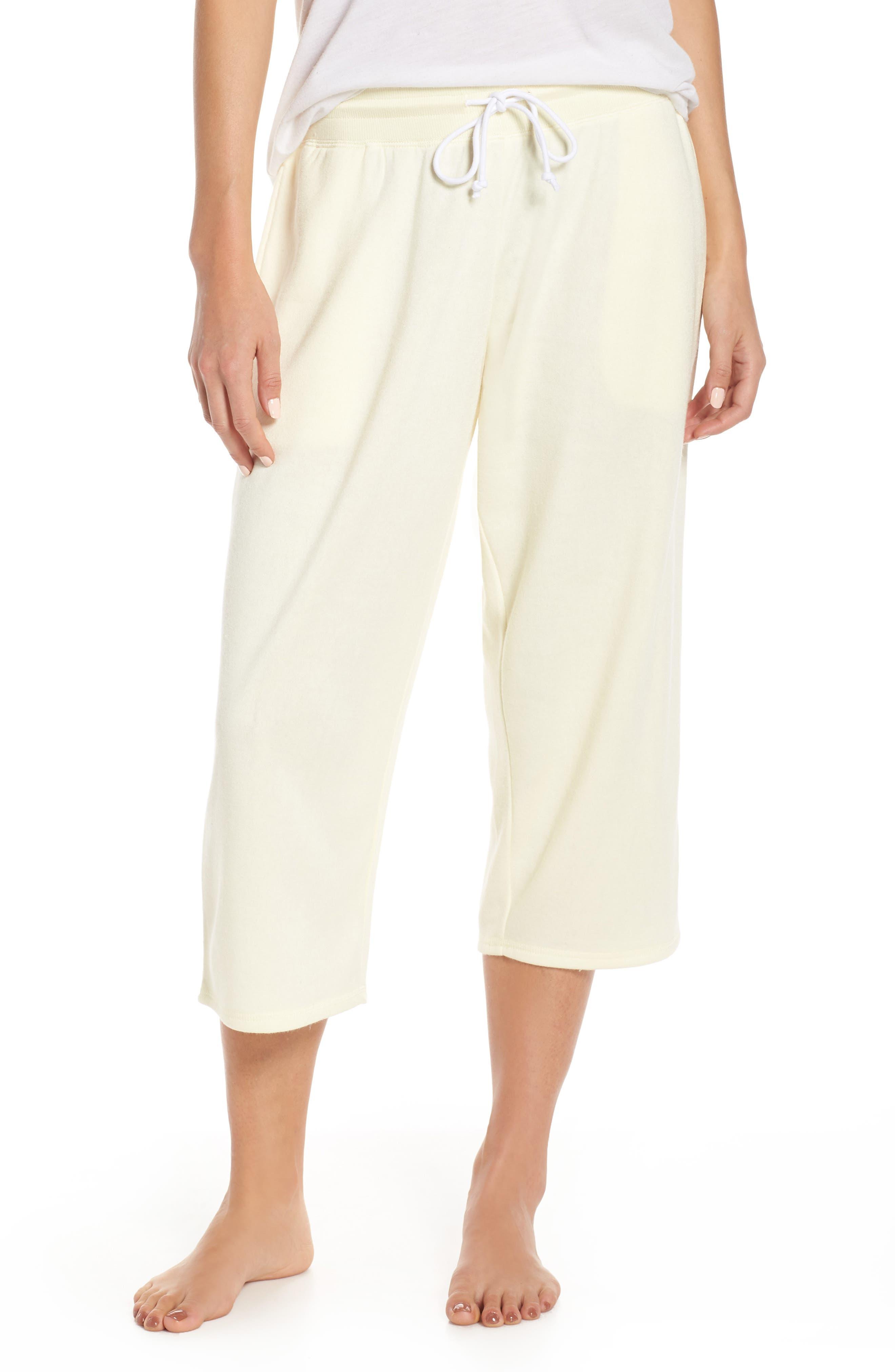 ,                             Cropped Fleece Pants,                             Main thumbnail 15, color,                             740
