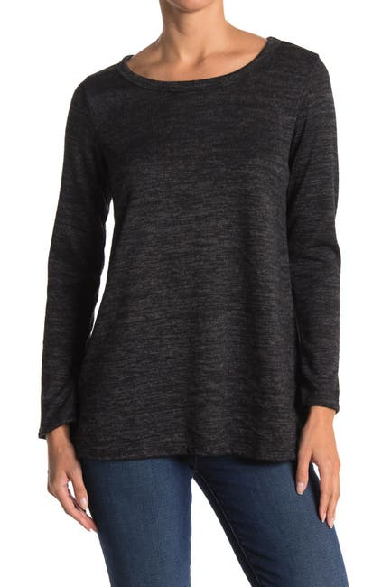 Image of Forgotten Grace Brushed Hacci Long Sleeve T-Shirt