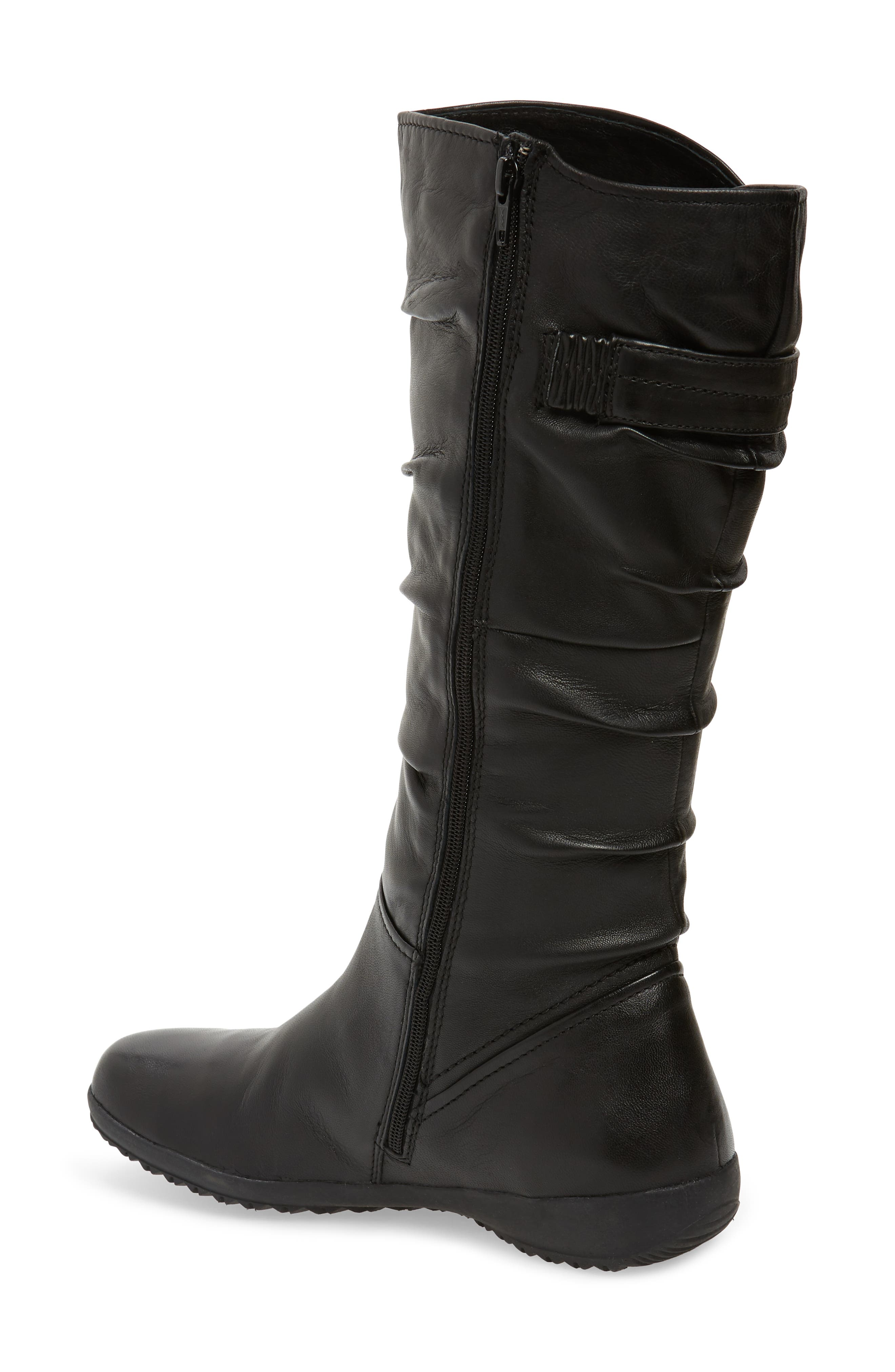 ,                             Naly 23 Boot,                             Alternate thumbnail 2, color,                             BLACK LEATHER