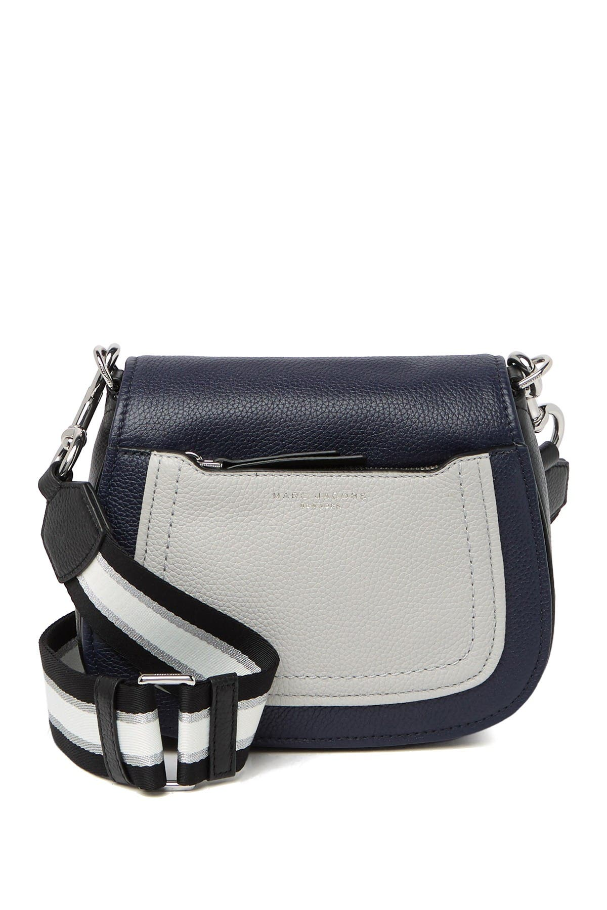 Image of Marc Jacobs Empire City Mini Leather Messenger Bag