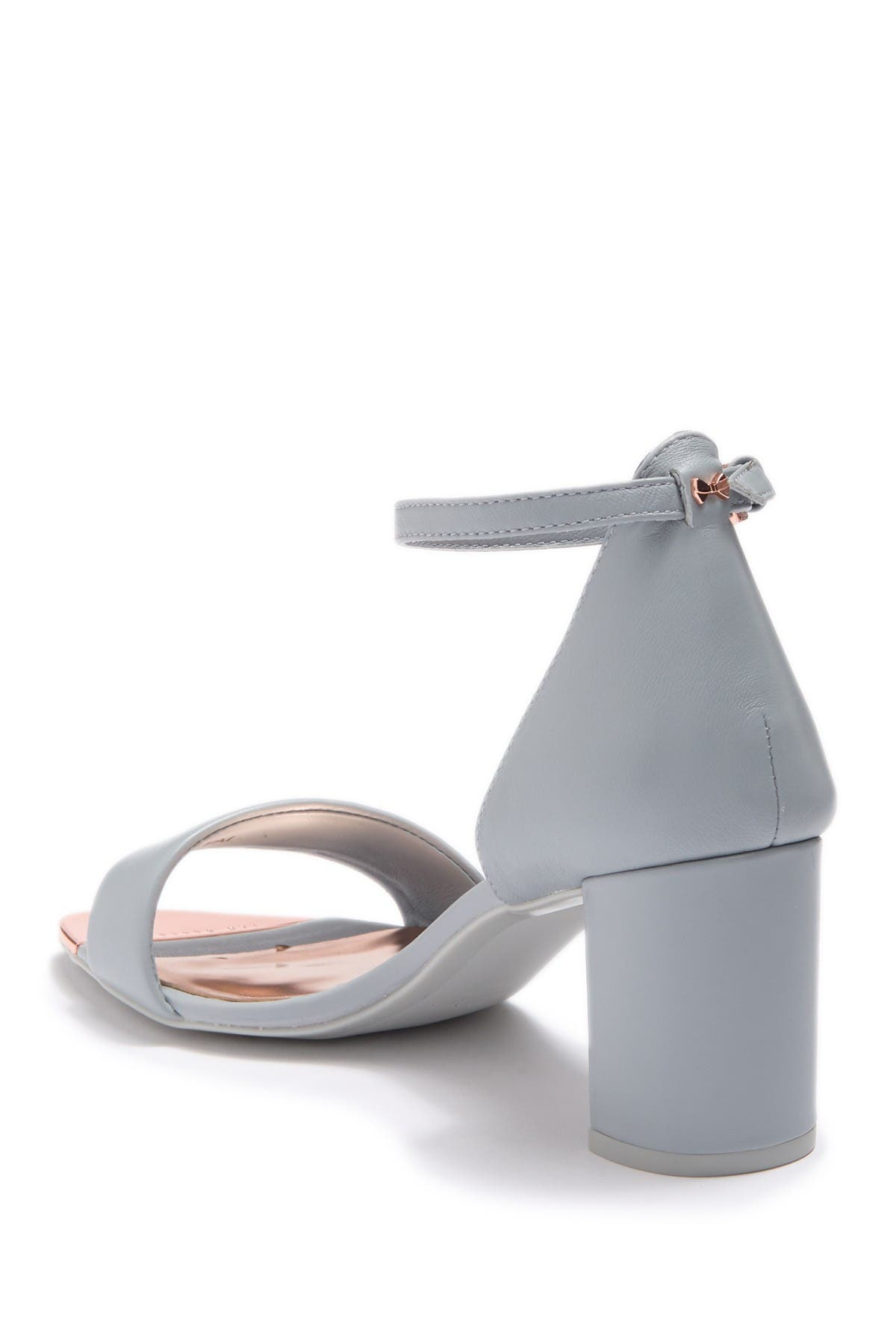 Image of Ted Baker London Sheah Leather Block Heel Sandal