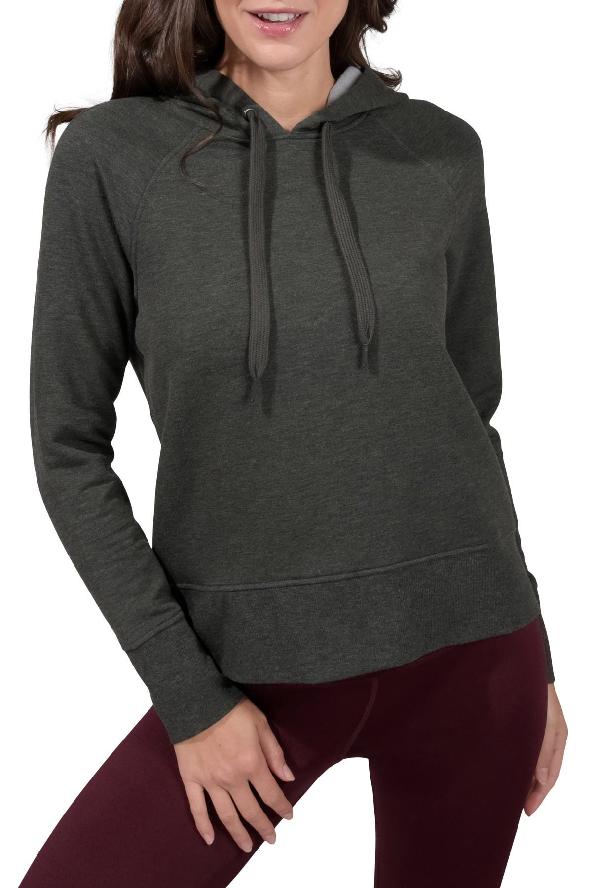 Image of 90 Degree By Reflex Butter Hoodie Long Sleeve Top