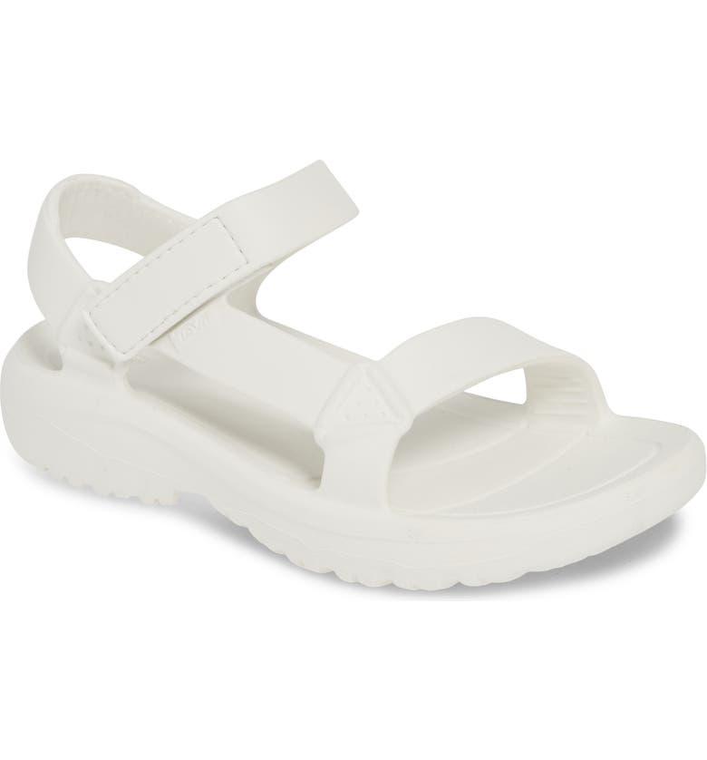 TEVA Hurricane Drift Water Friendly Sandal, Main, color, WHITE FABRIC