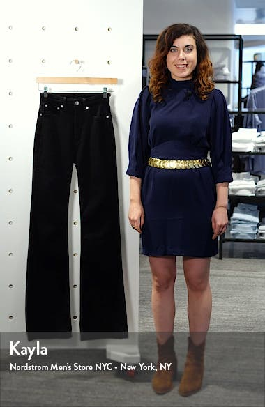 Jane Super High Waist Flare Jeans, sales video thumbnail