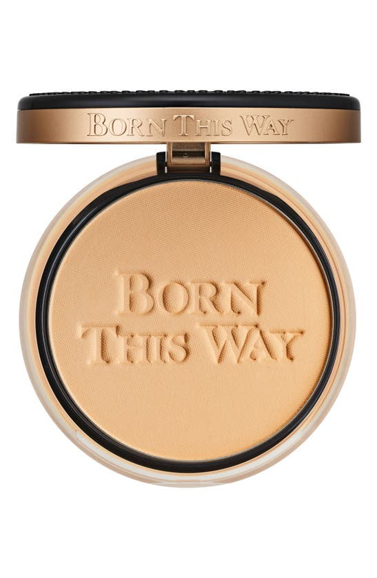 Too Faced Born This Way Undetectable Medium-to-full Coverage Powder Foundation In Light Beige