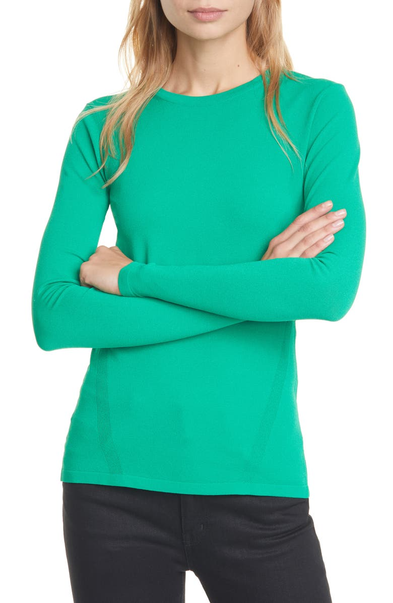 DVF Jess Sweater, Main, color, STALK