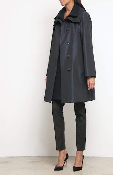 Long Sleeve Silk Jersey Blouse, video thumbnail