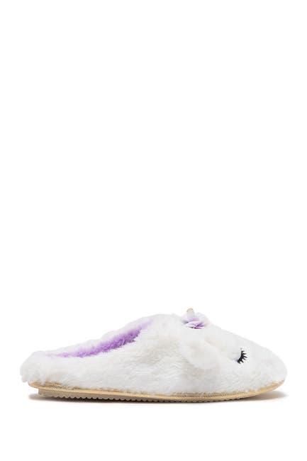 Image of Chinese Laundry Faux Fur Unicorn Clog Slipper