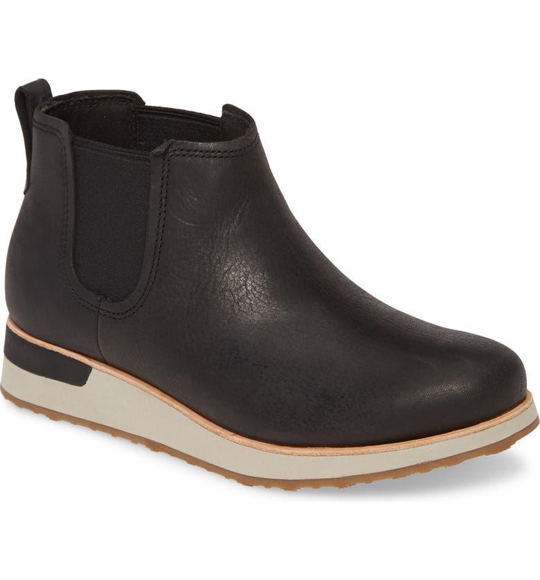 MERRELL Roam Chelsea Boot, Main, color, BLACK LEATHER