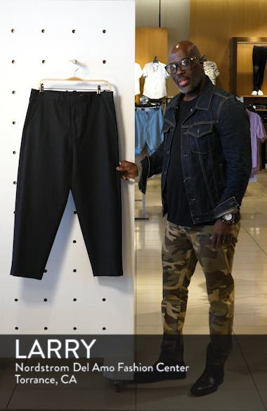 Miro Relaxed Fit Wool & Cotton Dress Pants, sales video thumbnail