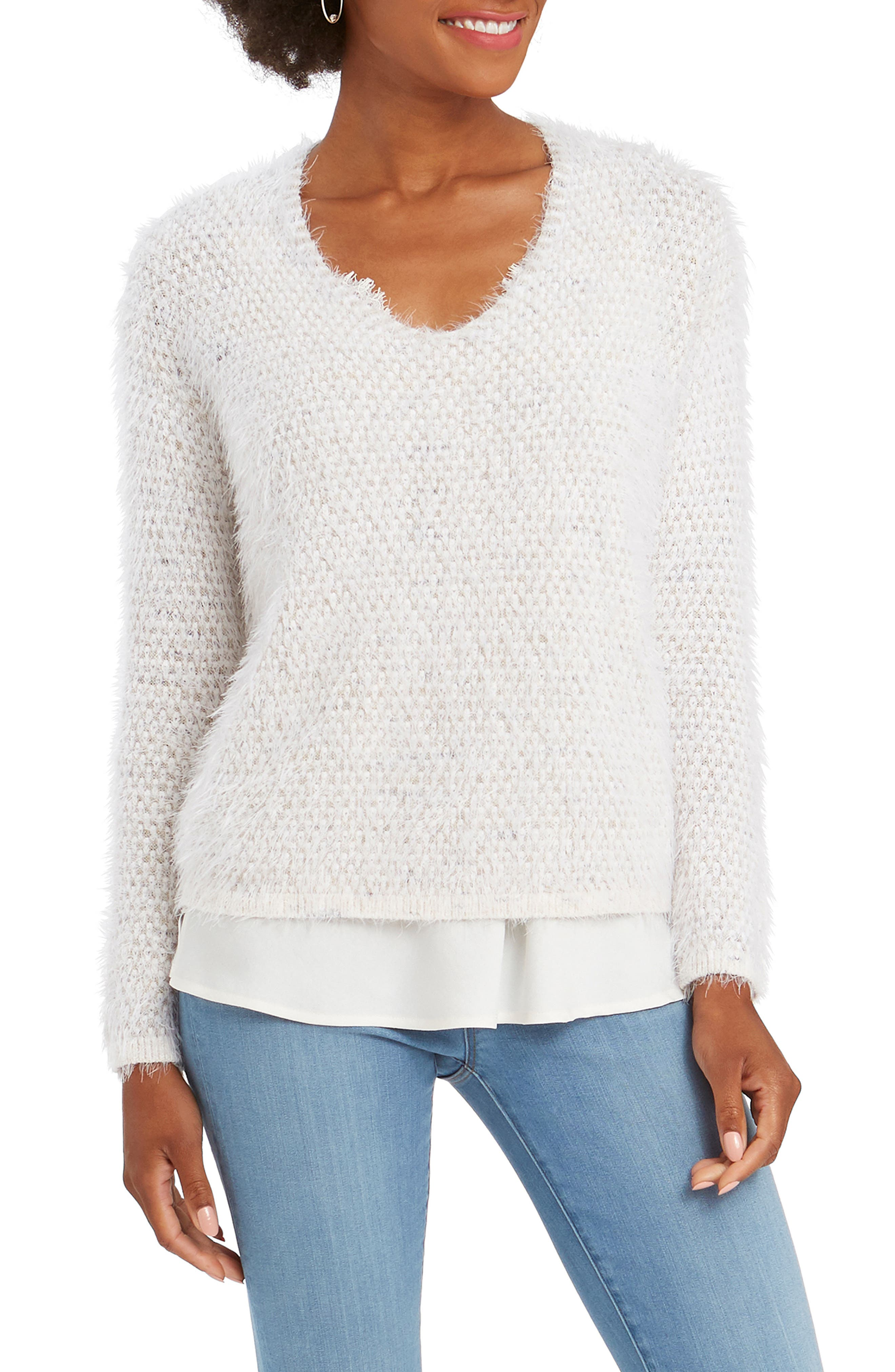 NIC+ZOE The Right Fluff Sweater   Nordstrom