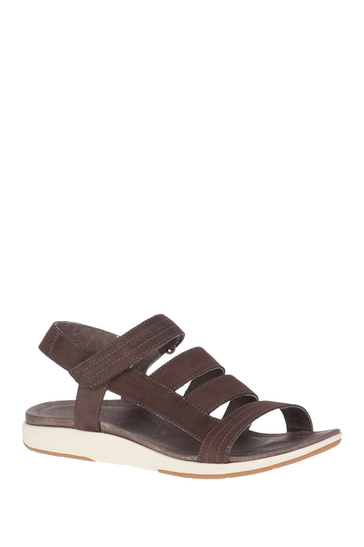 Image of Merrell Kalari Lore Strappy Leather Sandal