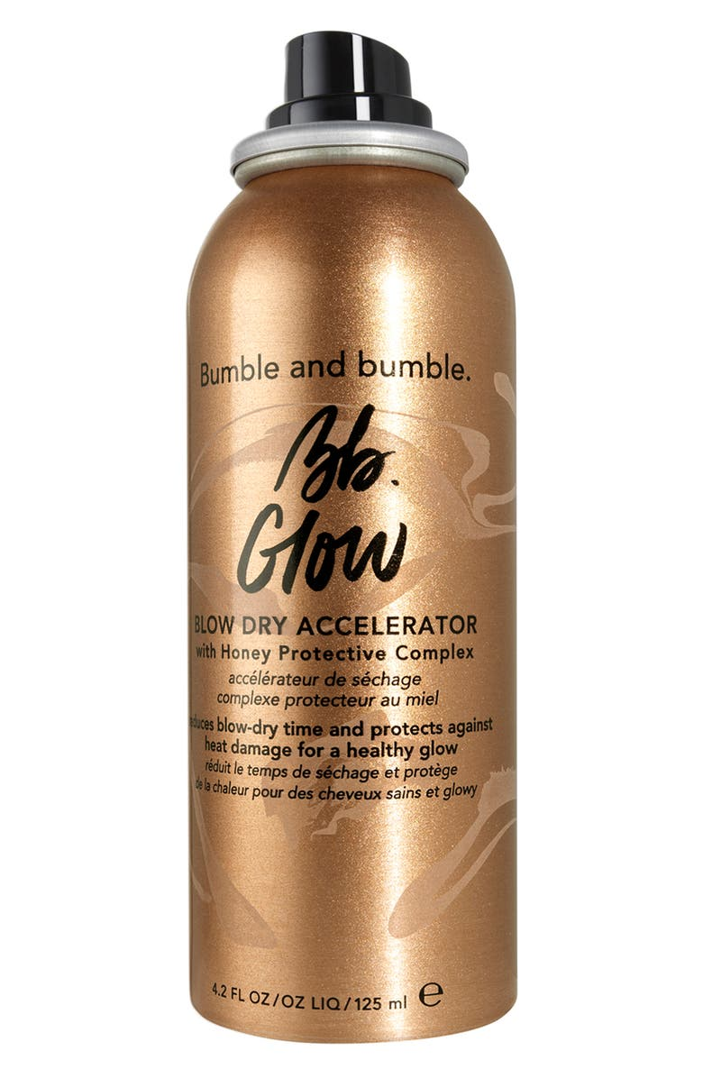 BUMBLE AND BUMBLE. Glow Blow Dry Accelerator, Main, color, NO COLOR