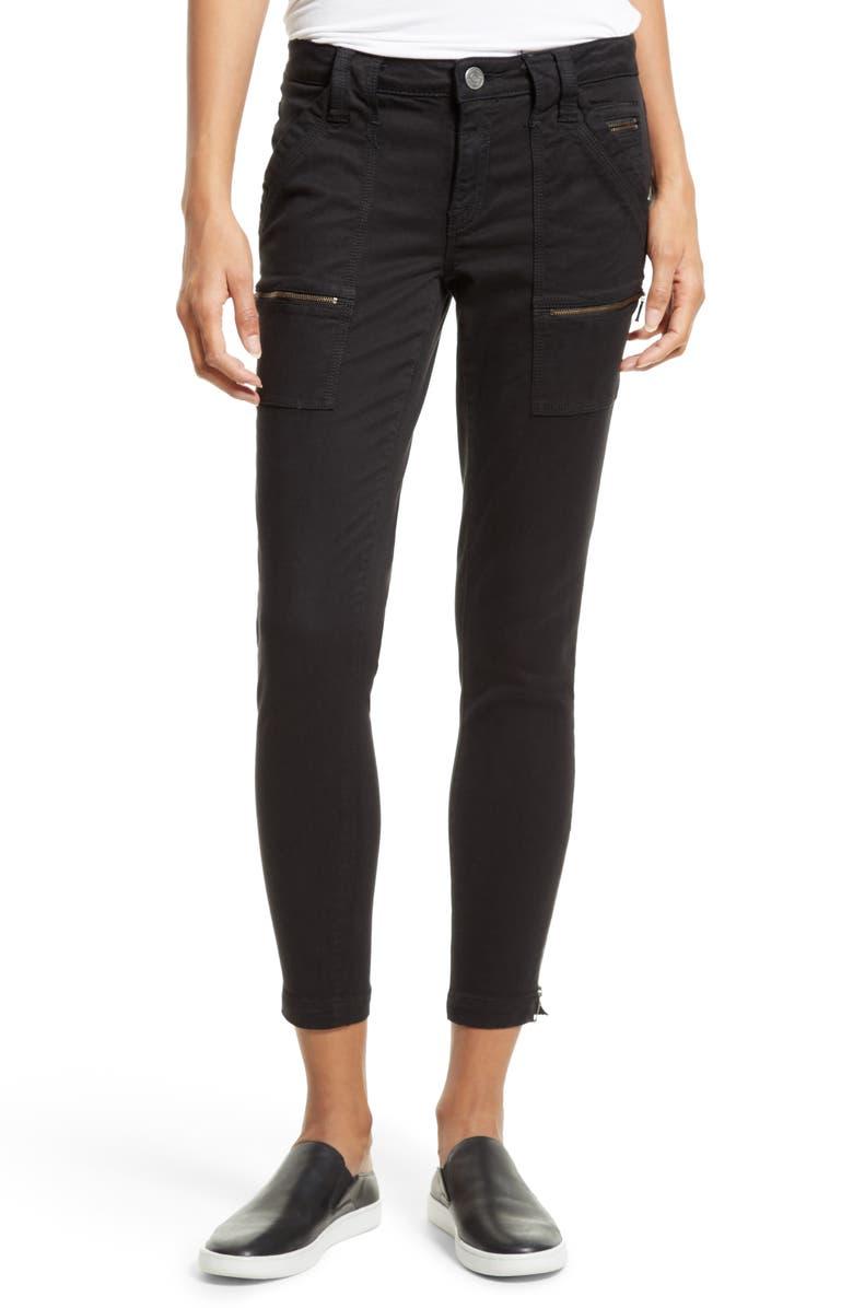 JOIE Park Skinny Pants, Main, color, CAVIAR