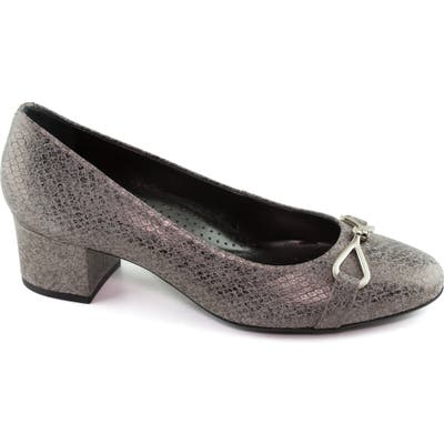 Marc Joseph New York Riverside Pump- Grey