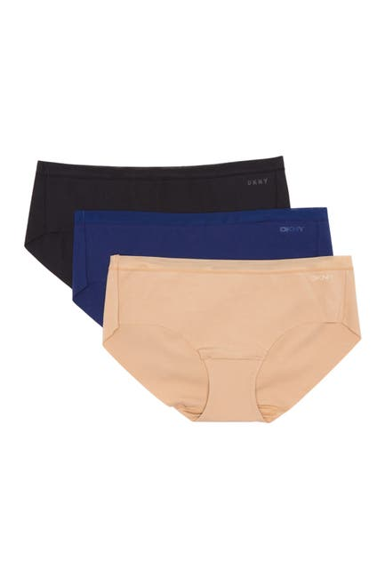 Image of DKNY Cotton Hipster Panties - Pack of 3