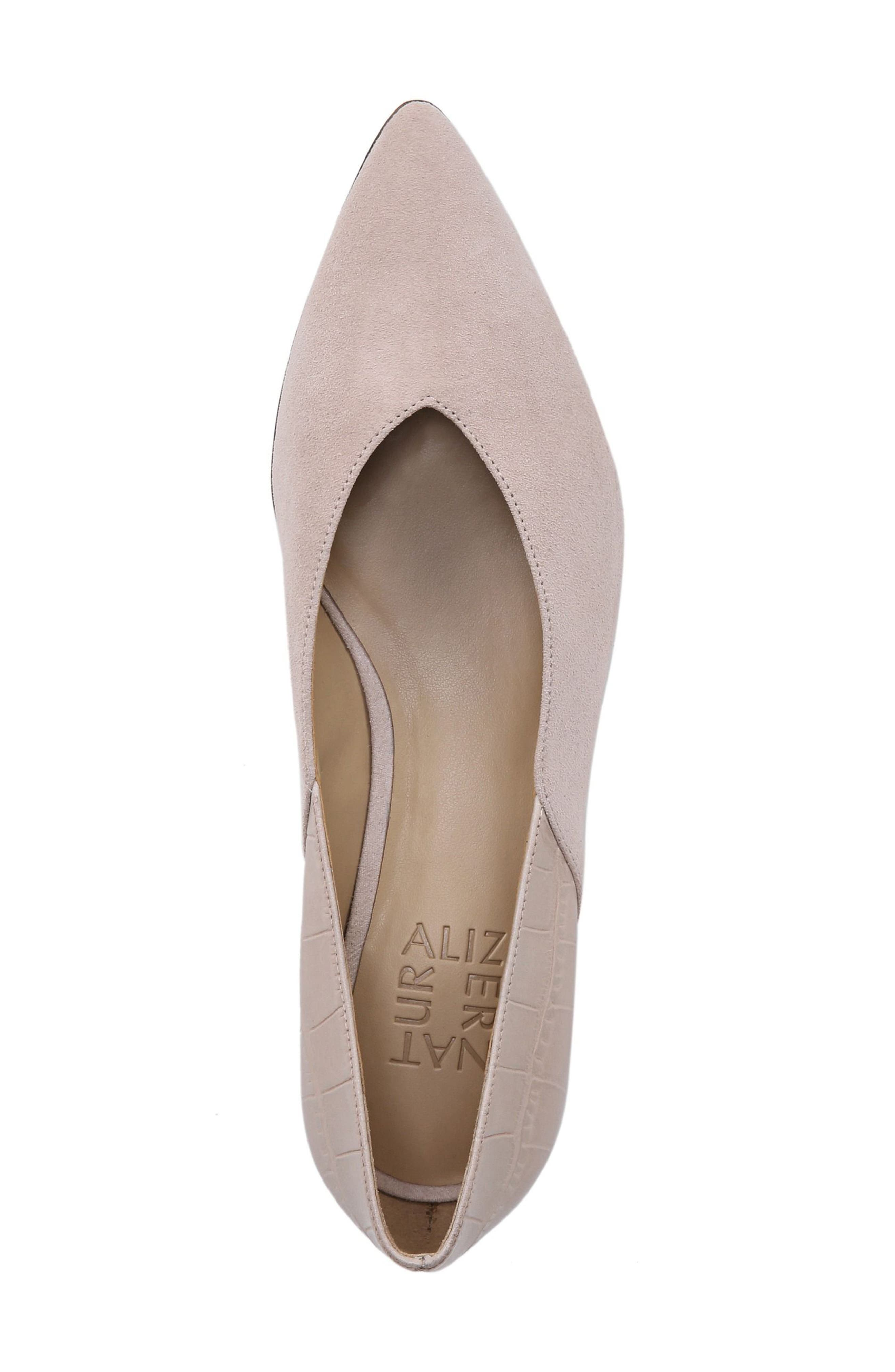 ,                             Betty Pump,                             Alternate thumbnail 4, color,                             SOFT MARBLE SUEDE