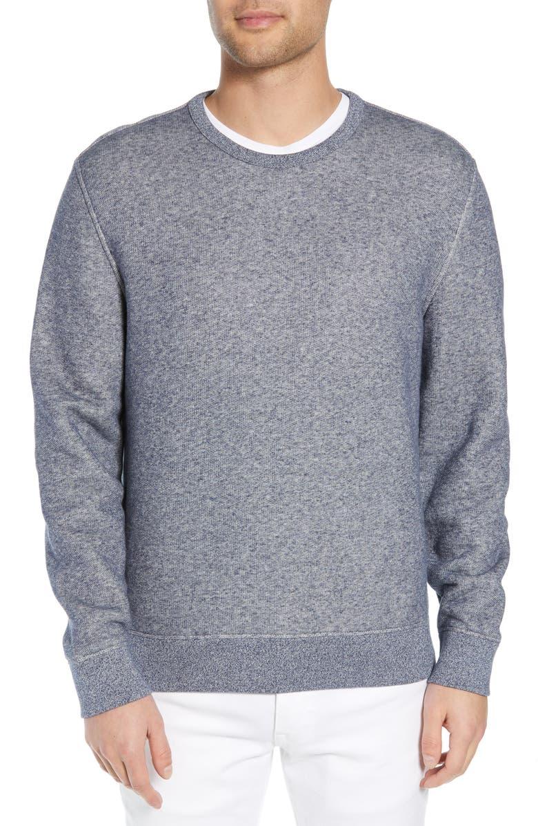 VINCE Regular Fit Crewneck Cotton Sweatshirt, Main, color, 462