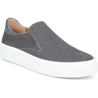 Via Spiga Velina Slip-On Platform Sneaker, Grey