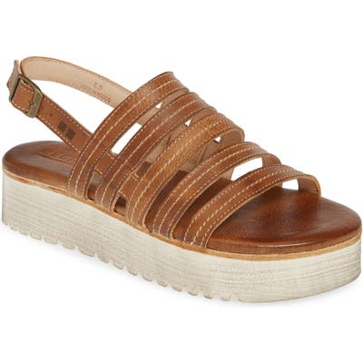 Bed Stu Ensley Flatform Sandal- Brown